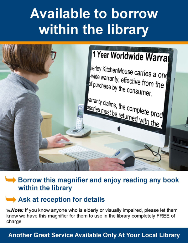 Click here to download a library flyer
